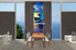 dining room art, 3 piece art, ship large pictures, scenery multi panel canvas, ocean pictures