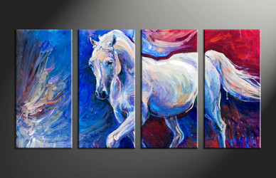 home decor, 4 piece canvas arts, animal canvas arts, wildlife huge canvas art, scenery group canvas