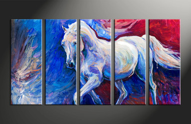 home decor, 5 piece canvas arts, animal canvas arts, wildlife huge canvas art, scenery group canvas