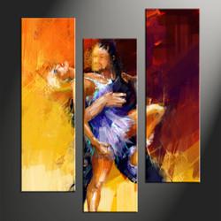 home decor, 3 piece canvas arts, salsa canvas arts, modern huge canvas art, abstract canvas wall art