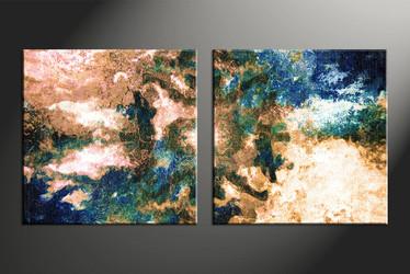 Home Wall Decor, 2 piece canvas wall art, oil canvas wall art, abstract huge canvas art, abstract canvas wall art