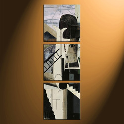 home decor, 3 piece canvas arts, modern artwork, oil large canvas, modern multi panel canvas