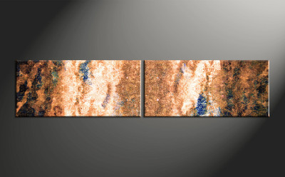 Home wall art, 2 piece multi panel canvas, oil paintings artwork, abstract wall decor