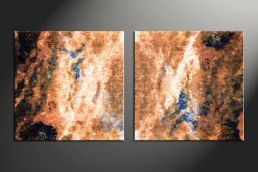 Home Decor, 2 piece canvas wall art, abstract large canvas, abstract wall art, oil paintings art