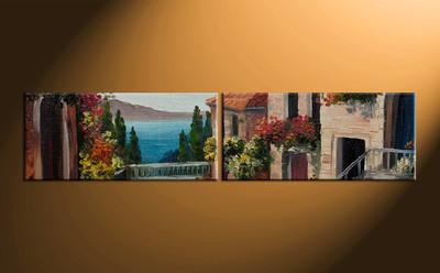 home decor, 2 piece artwork, city photo canvas, city huge canvas art, city canvas wall art