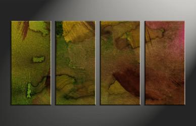 Home Decor, 4 piece canvas wall art, abstract art, abstract large canvas, abstract decor