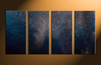Home Decor, 4 piece canvas wall art, abstract multi panel art, abstract large canvas, oil painting art