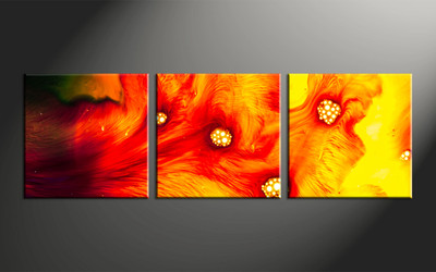 Home Wall Art, 3 piece canvas wall art, oil paintings multi panel art, abstract huge pictures, abstract photo canvas