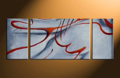 Home Decor, 3 piece canvas wall art, oil painting large canvas, abstract huge pictures, abstract art