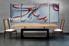 Dining Room Art, 3 piece canvas wall art, oil painting photo canvas, abstract wall art, abstract decor