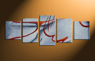 Home Wall Decor, 5 piece canvas wall art, abstract photo canvas, oil painting wall art, abstract decor