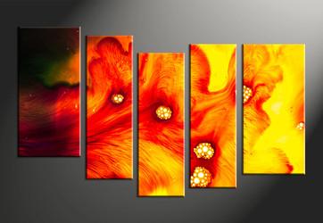 Home Decor, 5 piece canvas wall art, abstract group canvas, abstract canvas photography, abstract art