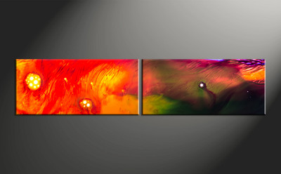 Home Decor, 2 piece canvas art, abstract large pictures, oil paintings photo canvas, abstract art