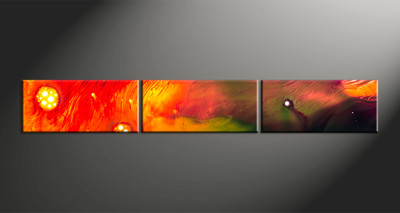 Home Decor, 3 piece canvas wall art, abstract multi panel art, oil paintings photo canvas, abstract art