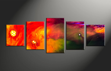 Home Decor, 5 piece canvas wall art, abstract large pictures, oil paintings photo canvas, abstract art