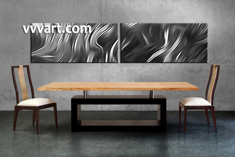 Dining Room Decor, 2 piece canvas wall art, abstract canvas wall art, abstract canvas photography, abstract multi panel art