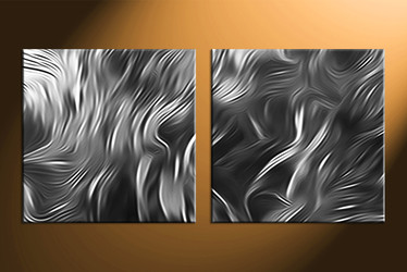 Home Decor, 2 piece canvas wall art, abstract large pictures, abstract canvas photography, black and white artwork