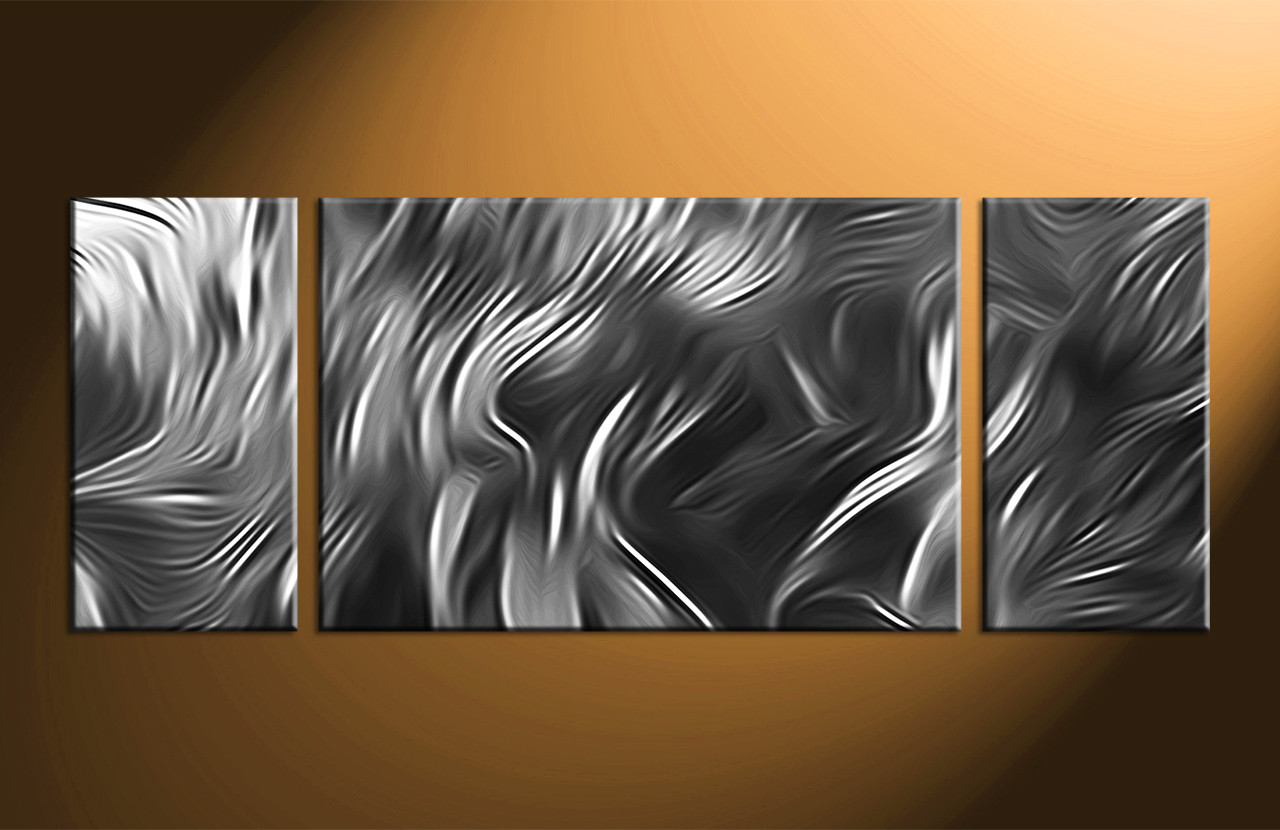 abstract canvas wall art 3 Piece Canvas Abstract Grey Artwork abstract canvas wall art