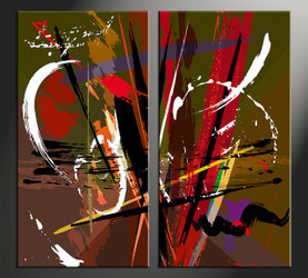 Home Art, 2 piece canvas wall art, abstract pictures, abstract canvas photography, oil paintings artwork