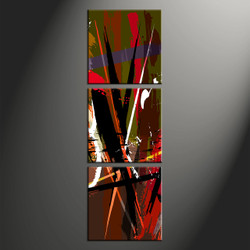 Home Decor, 3 piece canvas wall art, abstract wall decor, abstract photo canvas, oil paintings large canvas