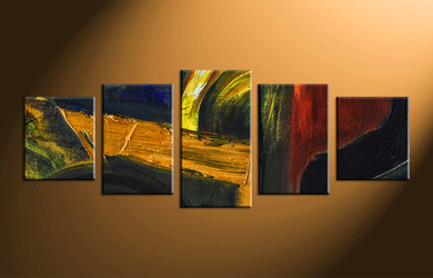 home decor, 5 piece canvas wall art, abstract group canvas, oil paintings canvas photography, abstract art