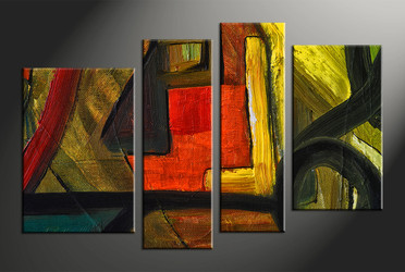 Home Decor, 4 piece photo canvas, abstract huge canvas art, oil paintings photo canvas, abstract canvas wall art