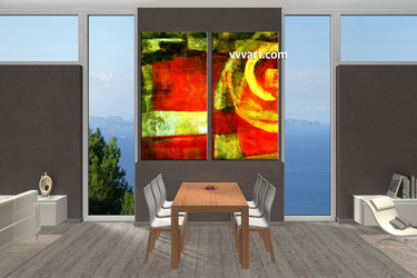 dining room photo canvas, 2 piece canvas wall art, abstract photo canvas, abstract artwork, abstract canvas photography