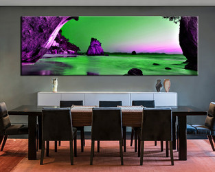 1 piece large canvas, dining room wall art,ocean pictures, ocean canvas photography