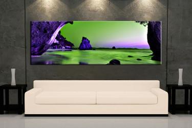 1 piece large pictures, living room multi panel art,ocean photo canvas, ocean artwork