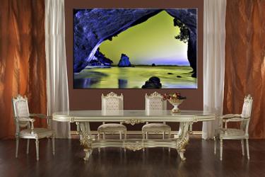 1 piece canvas wall art, ocean canvas print, blue ocean art, dining room canvas photography