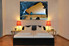 1 piece canvas art print, bedroom art, ocean multi panel art, landscape huge pictures, ocean artwork,home decor art