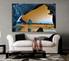 1 piece wall art, living room art, blue ocean multi panel art, beach canvas print, ocean huge pictures
