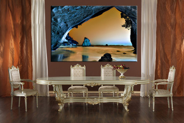 1 piece large pictures, dining room wall decor, ocean group canvas, ocean artwork,