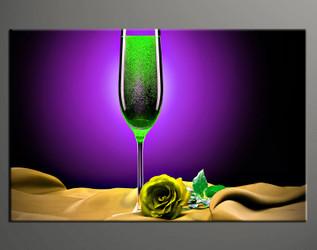 home decor art, 1 piece canvas art prints, purple wine canvas print, wine group canvas, wine pictures