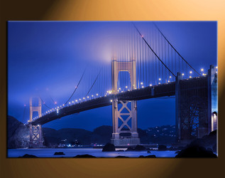 1 piece canvas photography, home decor art, city huge pictures, city wall decor