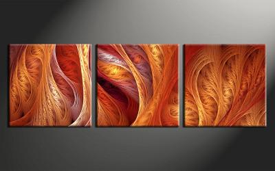 home decor art, 3 piece wall art, brown modern multi panel art, modern large pictures, modern photo canvas