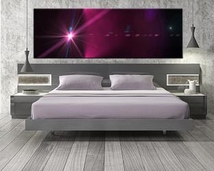 1 piece canvas wall art, bedroom modern artwork, purple modern pictures, modern canvas print, modern artwork