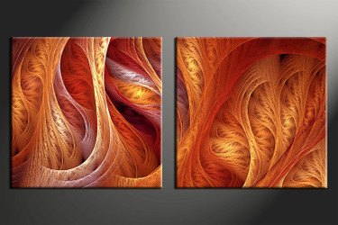 home decor art, 2 piece canvas art prints,  modern canvas print, brown modern group canvas, modern pictures