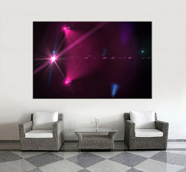 1 piece wall art, living room large canvas, purple modern huge pictures, modern multi panel canvas