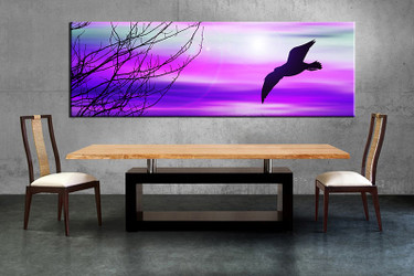 1 piece large canvas, dining room wall art,wildlife pictures, wildlife canvas photography