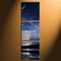 home decor,3 piece canvas art prints, blue ocean photo canvas, landscape canvas photography, ocean large pictures
