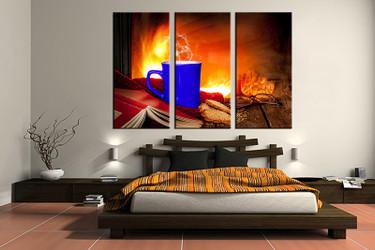3 piece canvas art print, bedroom art, Kitchen multi panel art, Kitchen huge pictures