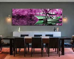 1 piece large canvas, dining room artwork, scenery canvas wall art, scenery group canvas, scenery photo canvas