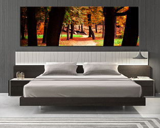 1 piece canvas wall art, bedroom art print, scenery large canvas, scenery canvas wall art