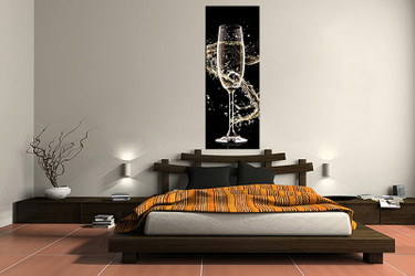 1 piece canvas wall art, bedroom Wine artwork, Wine pictures, wine canvas print, Wine artwork