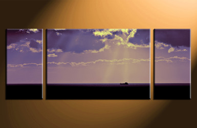 3 piece photo canvas, home decor artwork, ocean blue multi panel canvas, ocean canvas photography
