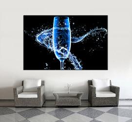 1 piece huge pictures, living room multi panel canvas, Wine canvas art prints, Wine artwork, Wine decor