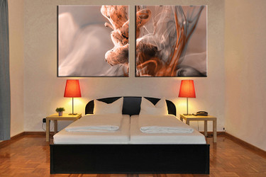 2 piece canvas art print, bedroom wall art, modern canvas photography, modern artwork, modern art