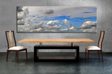 1 piece multi panel canvas, dining room canvas photography, modern wall art, modern artwork
