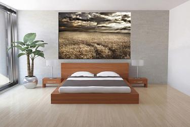 1 piece canvas wall art, bedroom art print, scenery large canvas, scenery multi panel canvas